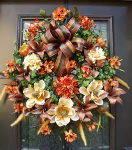 Reserved listing for carrie fall wreaths autumn by luxewreaths