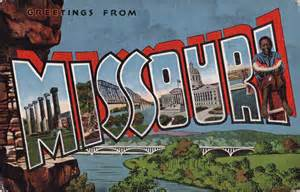 Greetings From Greetings From Missouri Postcard Roundup