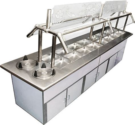 ice cold deluxe buffet table 96 quot restaurant equipment
