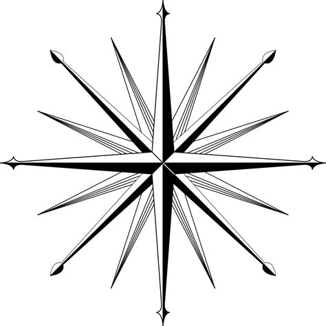 coloring page of compass rose compass rose coloring page clipart best