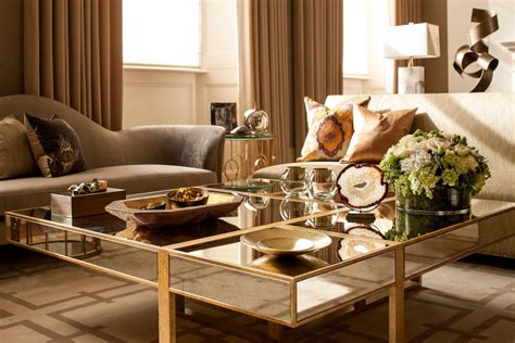 antique gold coffee gold living room table modern house