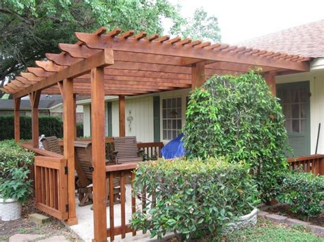 Patio Pergola Design Ideas Build Attached To Home Easy To Cost To Build Pergola