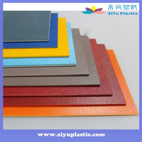 China Textured Heat Resistant Rigid Colored 4x8 Abs