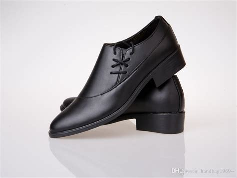 side lace up black dress shoes cool shoes leather