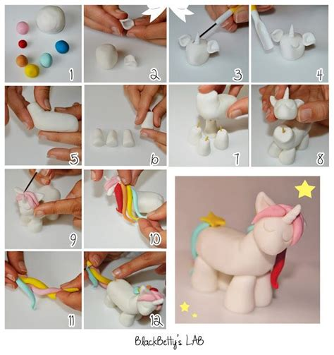 Unicorn Sugar Paste Tutorial Cakes Tutorial
