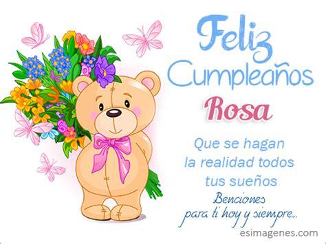 imagenes feliz cumpleaños rosa feliz cumplea 241 os rosa im 225 genes tarjetas postales con