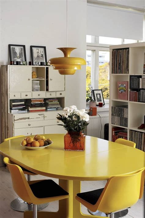 yellow dining room table 56 best dining room designs images on pinterest dining