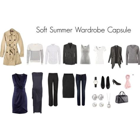 Soft Autumn Capsule Wardrobe by Quot Soft Summer Capsule Wardrobe Quot By Katestevens On Polyvore