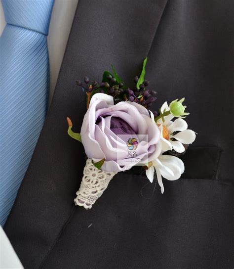 Wrist Corsage Groom Brooch Boutonniere Pin Bunga Bridesmaid 4 compare prices on silk wrist corsage shopping buy