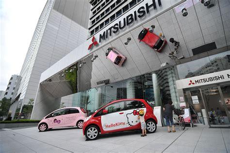 mitsubishi motors electric  kitty cars tokyoblings
