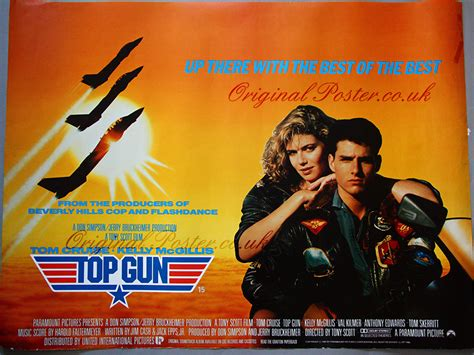 top gun film müzigi top gun original vintage film poster original poster