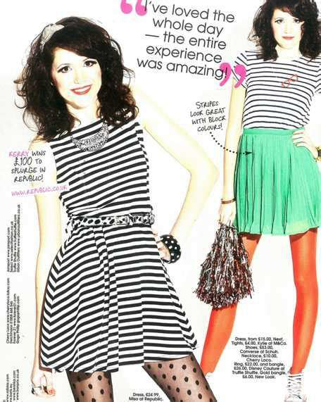 Dress Miso Stripe of shout magazine wears miso paperblog