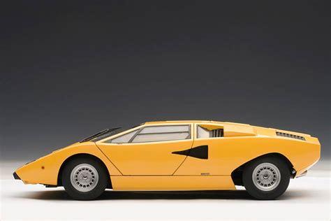 Lamborghini Countach Model Lamborghini Countach Scale Model Retro Supercar