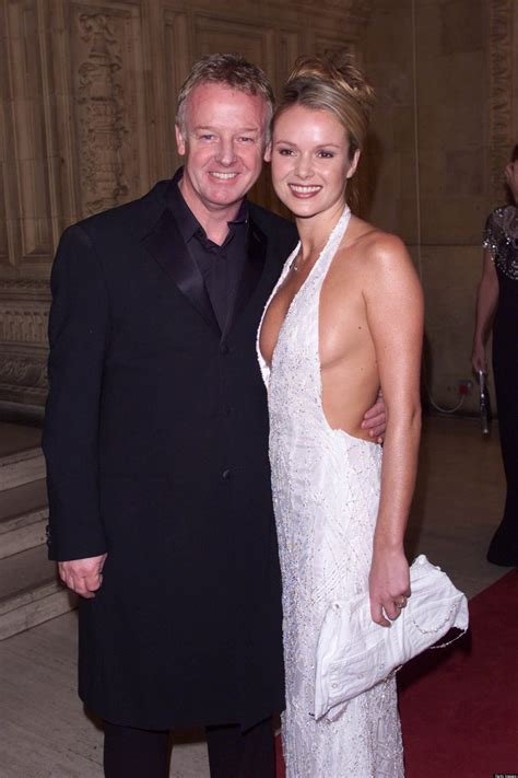 who is amanda holden married to britain s got talent s amanda holden makes les dennis