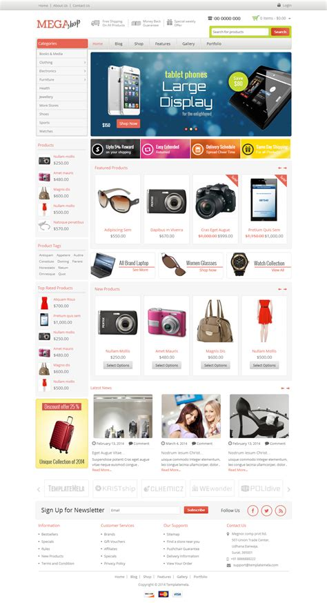 wordpress shop layout 5 best responsive wordpress electronics themes in 2014