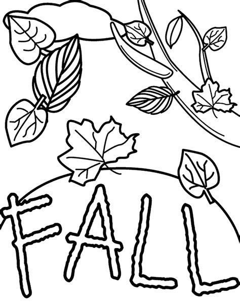 transmissionpress fall leaves coloring page