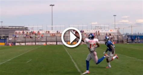 the science of odell beckham jrs incredible onehanded td catch 2014 video odell beckham jr with another incredible one