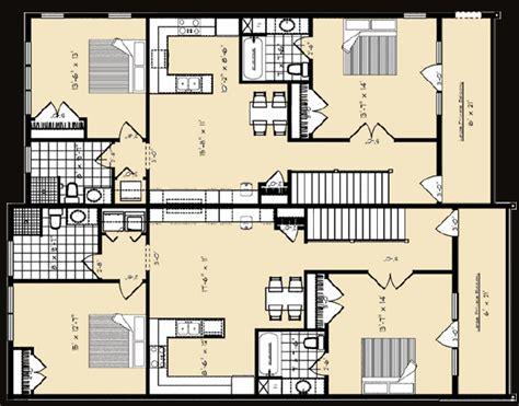 live work floor plans b e general contractors live work units floor plans