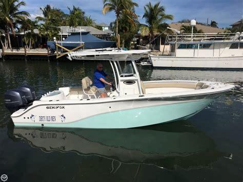 used sea fox boats for sale in florida sea fox 256 commander boats for sale boats