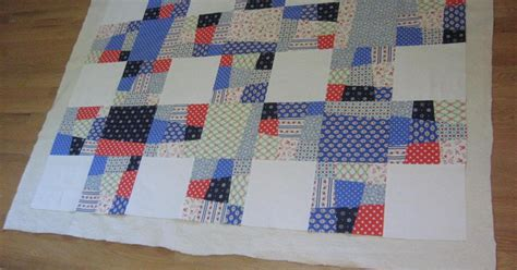 Putting A Quilt Sandwich Together by Pugs And Lilacs Nine Patch Lattice Quilt Part Ii