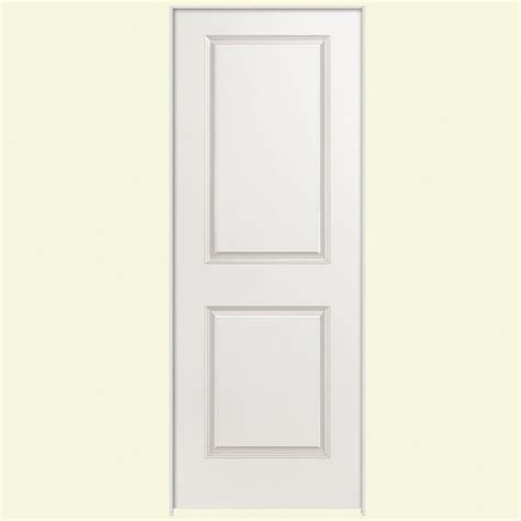 Sound Dening Interior Doors by Masonite Safe N Sound Smooth 2 Panel Solid Primed