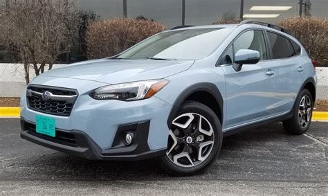 subaru crosstrek grey test drive 2018 subaru crosstrek limited the daily
