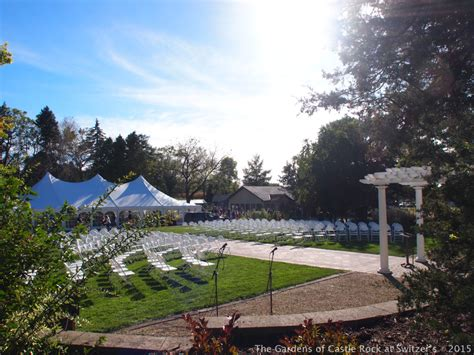 Gardens Of Castle Rock The Gardens Of Castle Rock Bright Beautiful Wedding Day