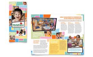 preschool kids amp day care brochure template word amp publisher
