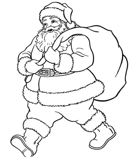 coloring pages of father christmas coloring pages of santa claus wants to go christmas