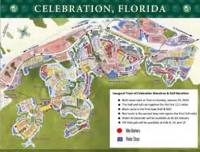 map of celebration florida 2016 celebration marathon and half marathon on january