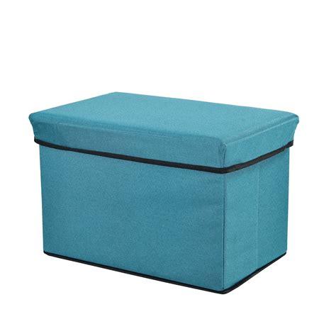 ottomane hocker en casa ottoman seat chest 48x32x32cm folding box