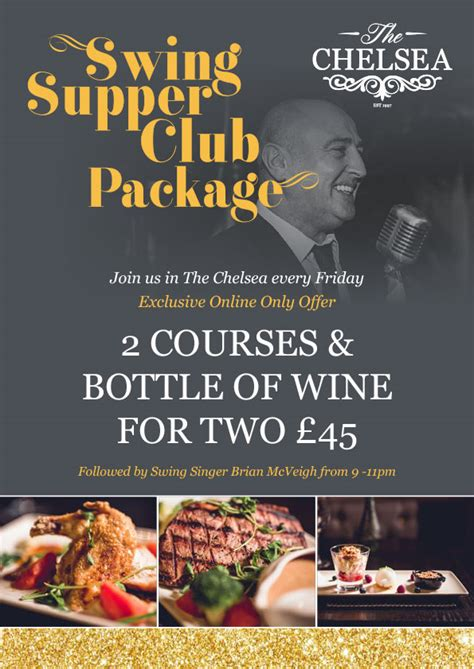 impromptu friday nights a guide to supper clubs books swing supper club bar restaurant lisburn road the