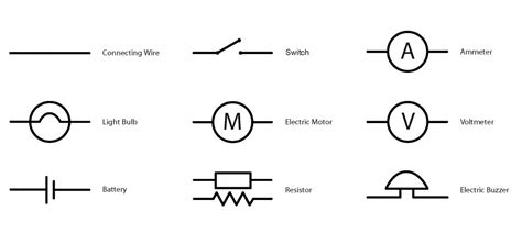 excellent light electrical symbol pictures inspiration
