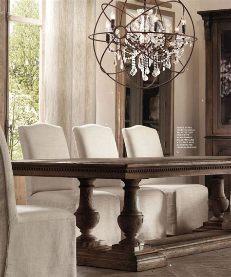 27 Best Images About Restoration Hardware On Pinterest Dining Table Catalogue