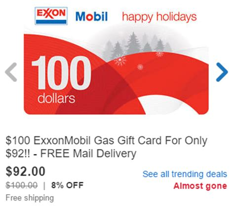 Facebook Gift Cards On Sale - ebay gas gift card sale stack with ebay bucks portals for a potential profit