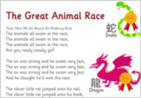 new year story the great race zodiac display poster which new year