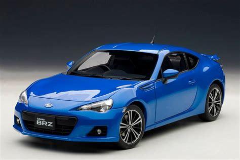 subaru autoart autoart subaru brz wr blue mica 78691 in 1 18 scale