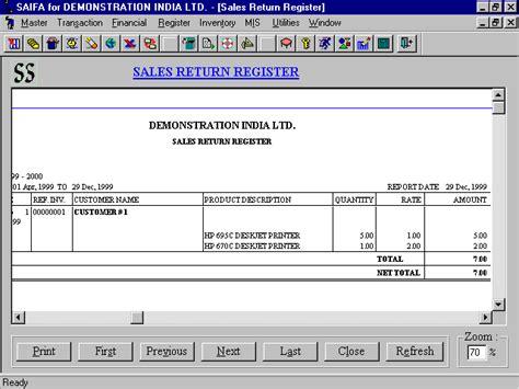 Salep Ratun saifaindia saifa software register