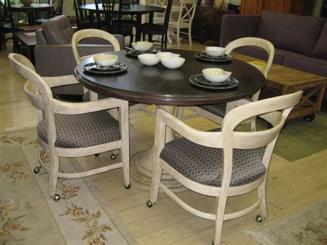 kitchen table sets with rolling chairs iron kitchen table with rolling chairs parts