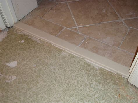 Bathroom Threshold by Bathroom Door Marble Threshold Tile Door Threshold
