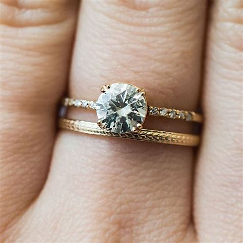 antique wedding bands for him for a unique wedding band look pair your engagement ring