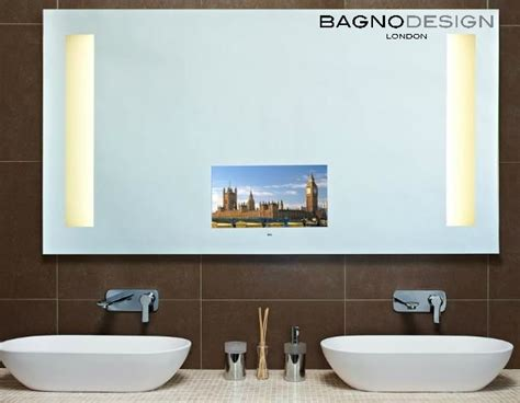 35 Best Images About Bathrooms On Pinterest Mirror Tv Bathroom Mirror With Radio