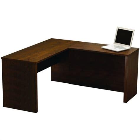 Chocolate Desk by Bestar Prestige L Shape Computer Desk In Chocolate