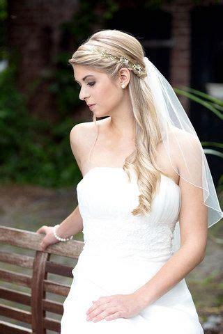 Hochzeitsfrisur Glatte Haare by Brautfrisur Lange Haare Schleier