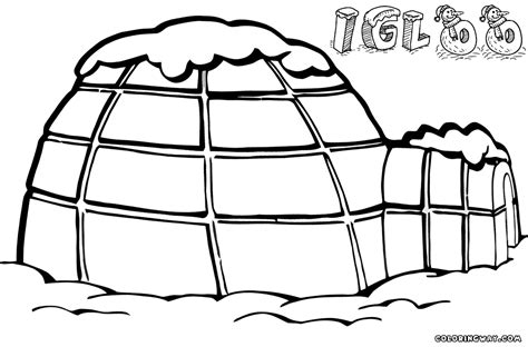 coloring page for igloo igloo coloring pages coloring pages to download and print
