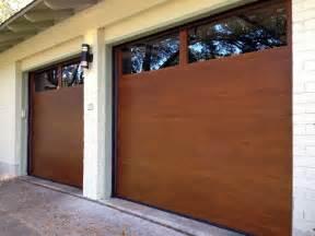 cowart door modern wood garage doors modern garage