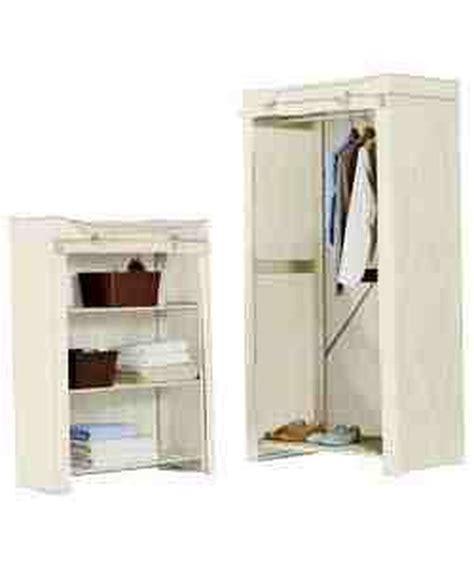 Canvas Wardrobe Assembly by Small Canvas Wardrobe And Shelf Unit Assembly Handyman