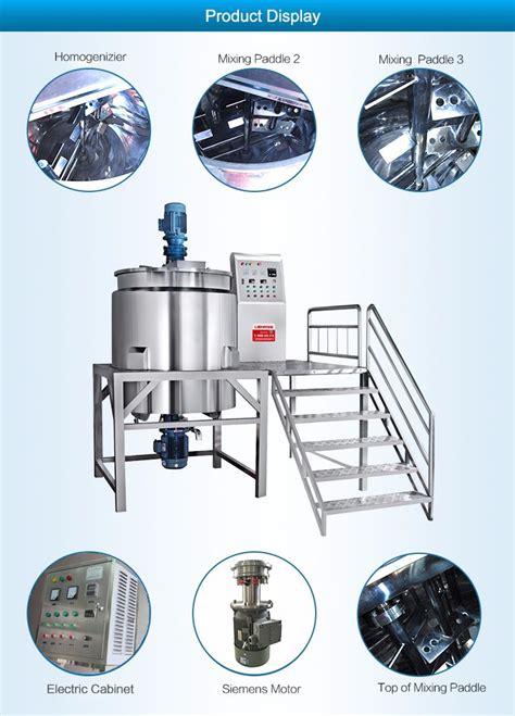 Mixer Untuk Sabun Cair guangzhou pabrik sabun cair deterjen shoo shower gel membuat mesin tangki pencuran mixer