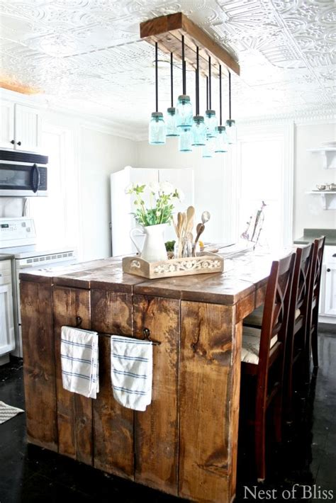 Meuble De Cuisine En Palette 676 by I This Farmhouse Kitchen Island And The Matching