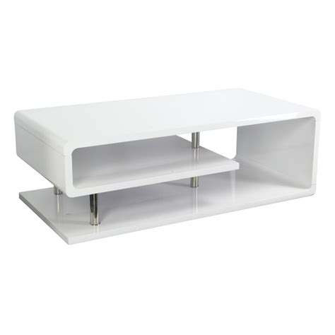 furniture of america coffee table furniture of america lazer coffee table in white idf 4057c